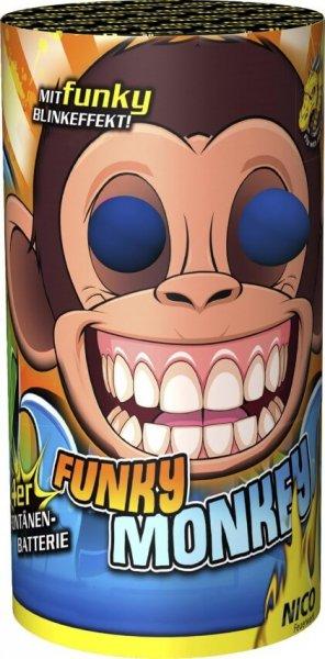 Fuky Monkey - 4 fach Fontänenbatterie