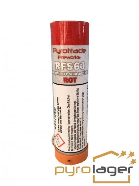 Pyrolager.de - Rauchkörper mit Schlagzünder rot