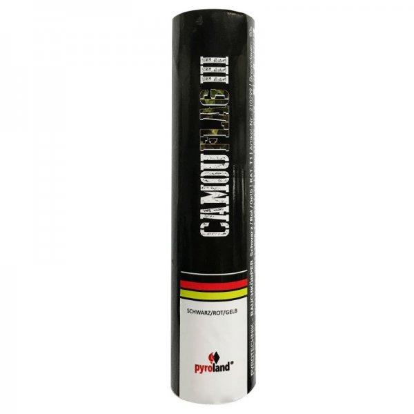 CamouFlag III - schwarz - rot - gelb
