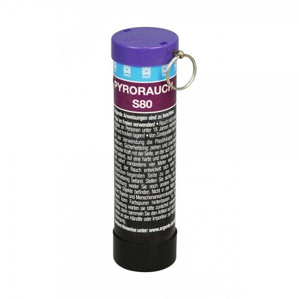 Pyrorauch-S80-Schlagz-nder-violett