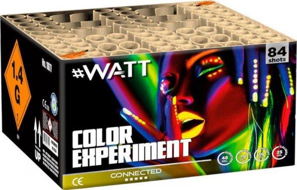 Color Experiment - Kräftiges 84 Schuss Verbundfeuerwerk aus der #Watt Reihe