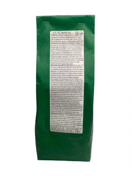 Weco Theaterflamme Bengalpulver Grün
