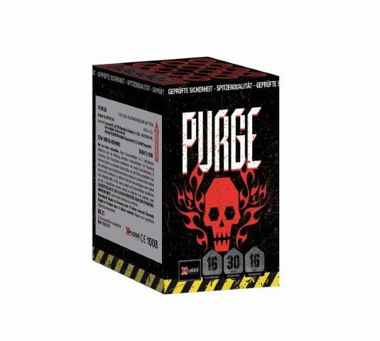 XP5244 - Purge, 16 Schuss Feuerwerksbatterie mit schneller Schussfolge