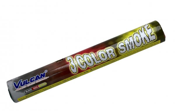 Raucherzeuger mit 3 Farben in Schwarz - Rot - Gelb