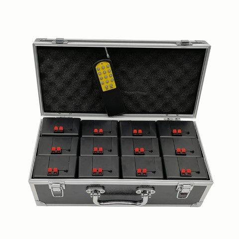 12 Kanal Zündanlage DZ08 - Tolles Profiset im hochwertigen Koffer
