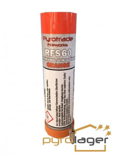 Pyrolager.de - Racuhkörper mit Schlagzündung Orange