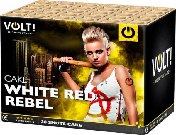 White Red Rebel 30 Schuss Blinkersterne aus der Volt! Reihe