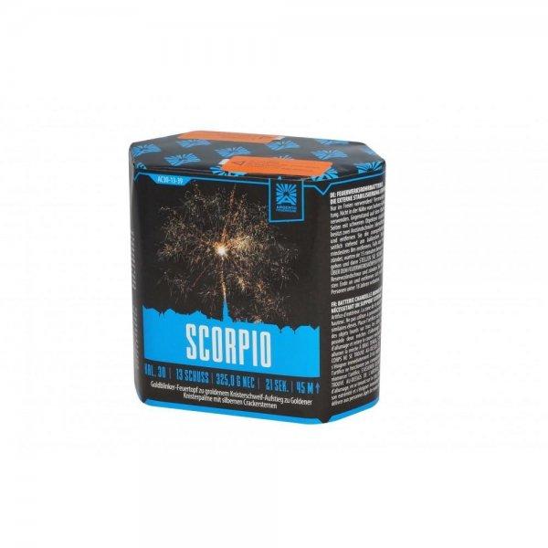 Scorpio - 13 Schüsser von Argento Feuerwerk