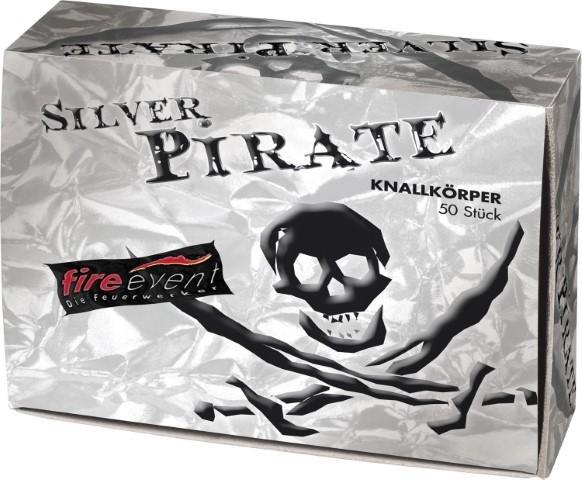 Schwarzpulver Böller Pirat Silver edition