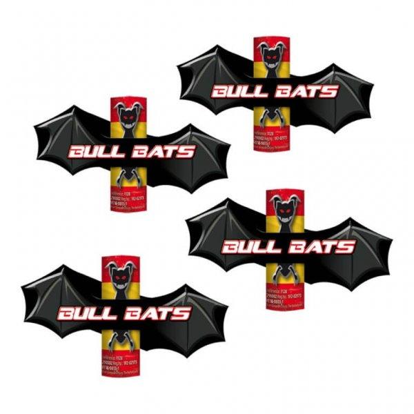 Bull Bats - 4 aufsteigende Fledermäuse in F2 Zulassung.