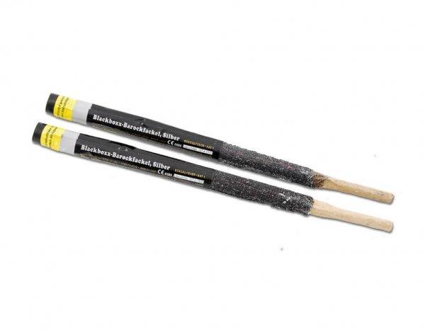 Pyrolager.de - Blackboxx Barockfackel Silber