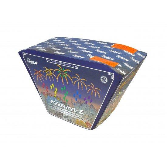 Wahnsinnig tolle Farben von Funke Feuerwerk - Riesen Effekte