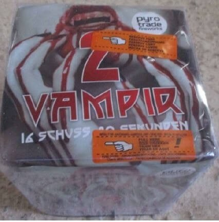 Vampir 2 - 16 Schuss Feuerwerk von PGE