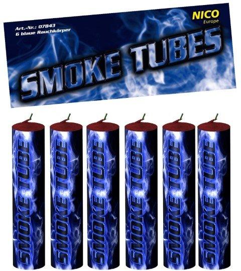 Smoke Tubes blau von Nico