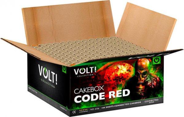 Code Red - Unglaubliches 144 Schuss Verbundfeuerwerk aus der Volt! Reihe