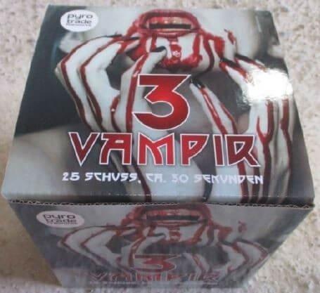 Vampir 3 - 25 Schuss Feuerwerk von PGE