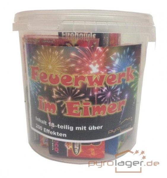 Feuerwerk im Eimer über 200 Teile