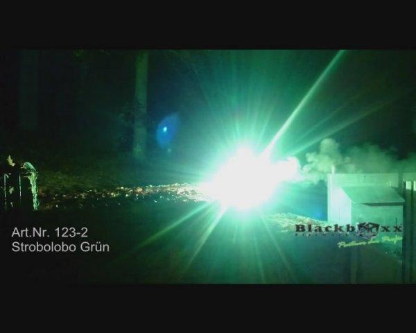 Pyrolager.de - Strobolobo Grün - Blinker Bengalo