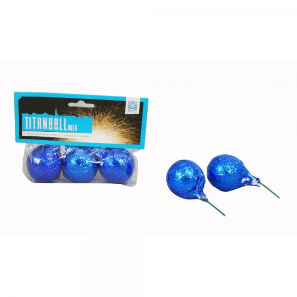 Titanball groß - Cracklingbälle aus dem Hause Argento Feuerwerk