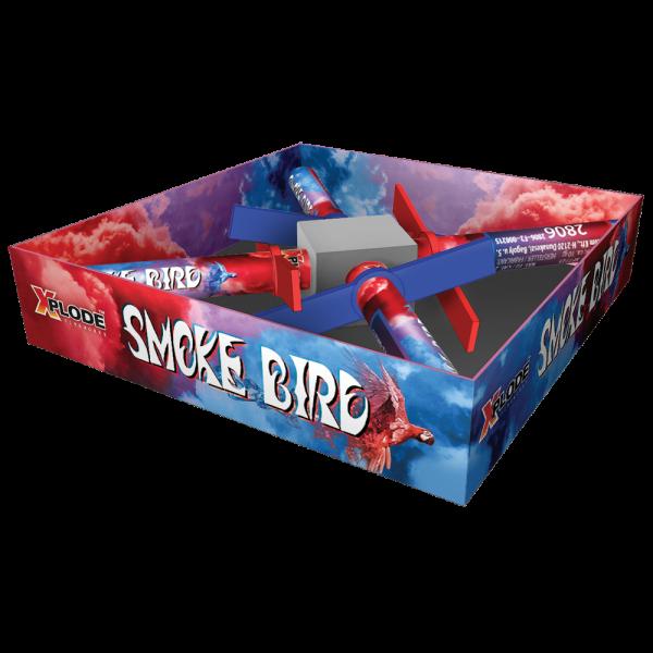 Smoke Bird - 4 mit farbigen rauch aufsteigende Feuervögel - Produktvideo