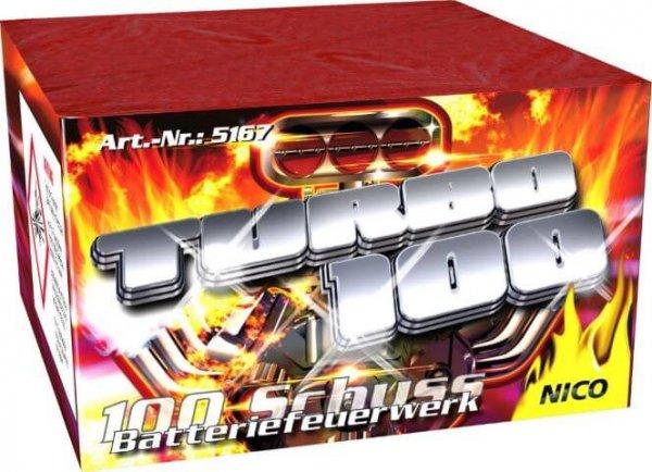 100 Schuss pfeifen und knall - die Turbo 100 von Nico Feuerwerk