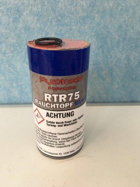 Rauchtopf RTR75 Blau - Pyrolager.de
