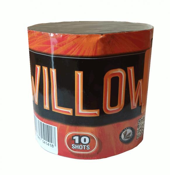 Willow! 10 Schuß Batterie von Lesli Feuerwerk