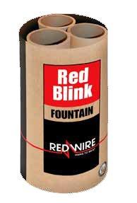 Lesli red Blink Fontäne im Pyrolager.de