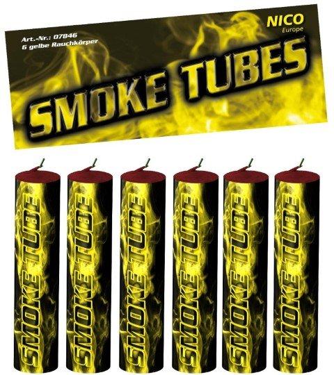 Smoke Tubes gelb von Nico