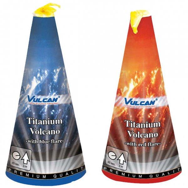 2 tolle Titanium Vulkane mit farbiger Basis