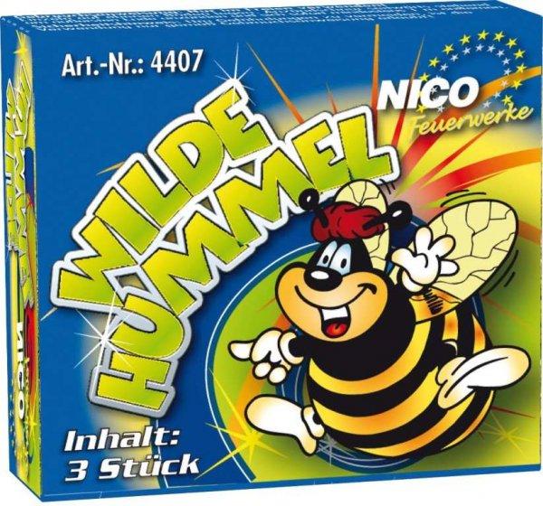 Wilde Hummel von Nico Feuerwerk