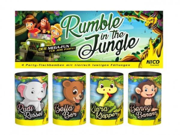 Rumble in the jungle Tischfeuerwerk
