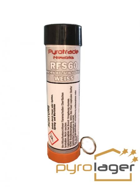 Pyrolager.de - Rauchkörper mit Schlagzünder Weiß