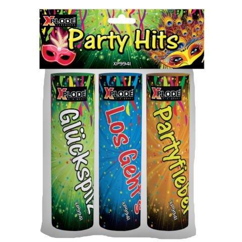 3 hübsche Tischknaller von Xplode - Die Xplode Party HIts