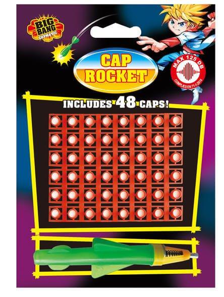 Cap Rocket - Knallrakete mit zündplättchen