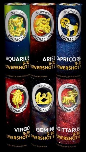 Powershot 1 - 6 Zodiac Line