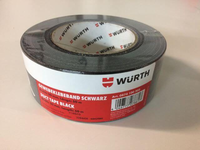 pyrolager.de - Gewebeklebeband - Panzertape silber