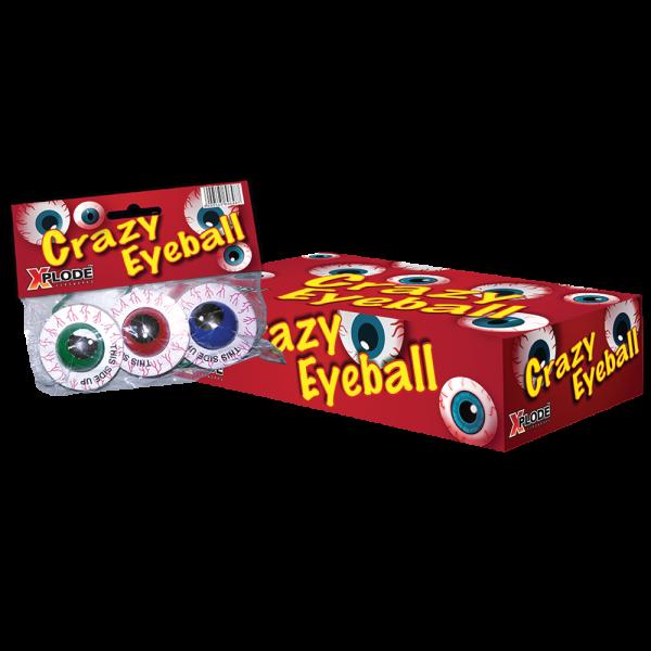 Crazy Eyeballs - 3 Bodenkreisel in Augenform