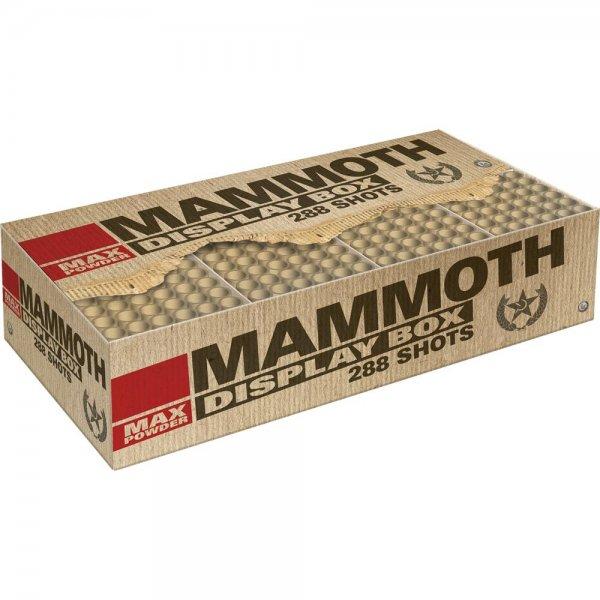 Mammoth - Mega XXL Feuerwerk in einer Box